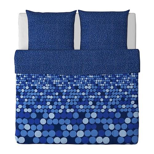 ikea bettw sche set bettbezug blau 240x220 cm neu ovp ebay. Black Bedroom Furniture Sets. Home Design Ideas