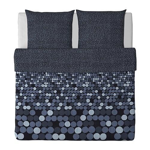 SMÖRBOLL Bettwäscheset, 2-teilig - 155x220/80x80 cm - IKEA