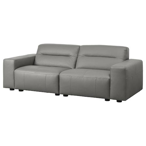 SNOGGE 2er-Sofa Grann graugrün 240 cm 104 cm 80 cm
