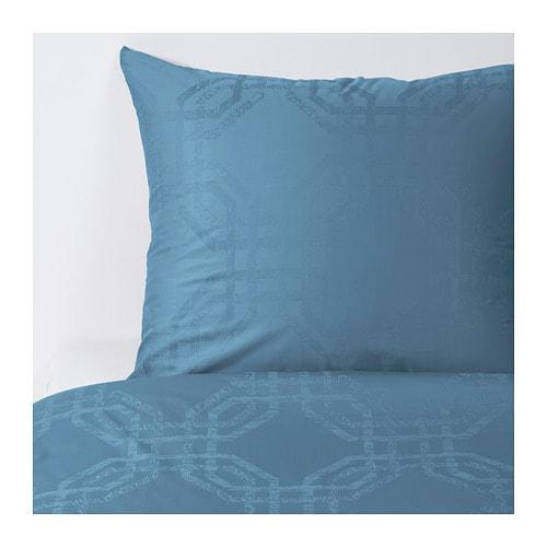 snok rt bettw scheset 2 teilig 155x220 80x80 cm ikea. Black Bedroom Furniture Sets. Home Design Ideas