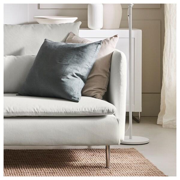SÖDERHAMN 4er-Sofa mit Récamiere + offenes Ende/Finnsta weiß 83 cm 69 cm 151 cm 285 cm 99 cm 122 cm 14 cm 6 cm 70 cm 39 cm