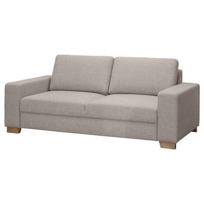 SÖRVALLEN 2er-Sofa, Tenö hellgrau
