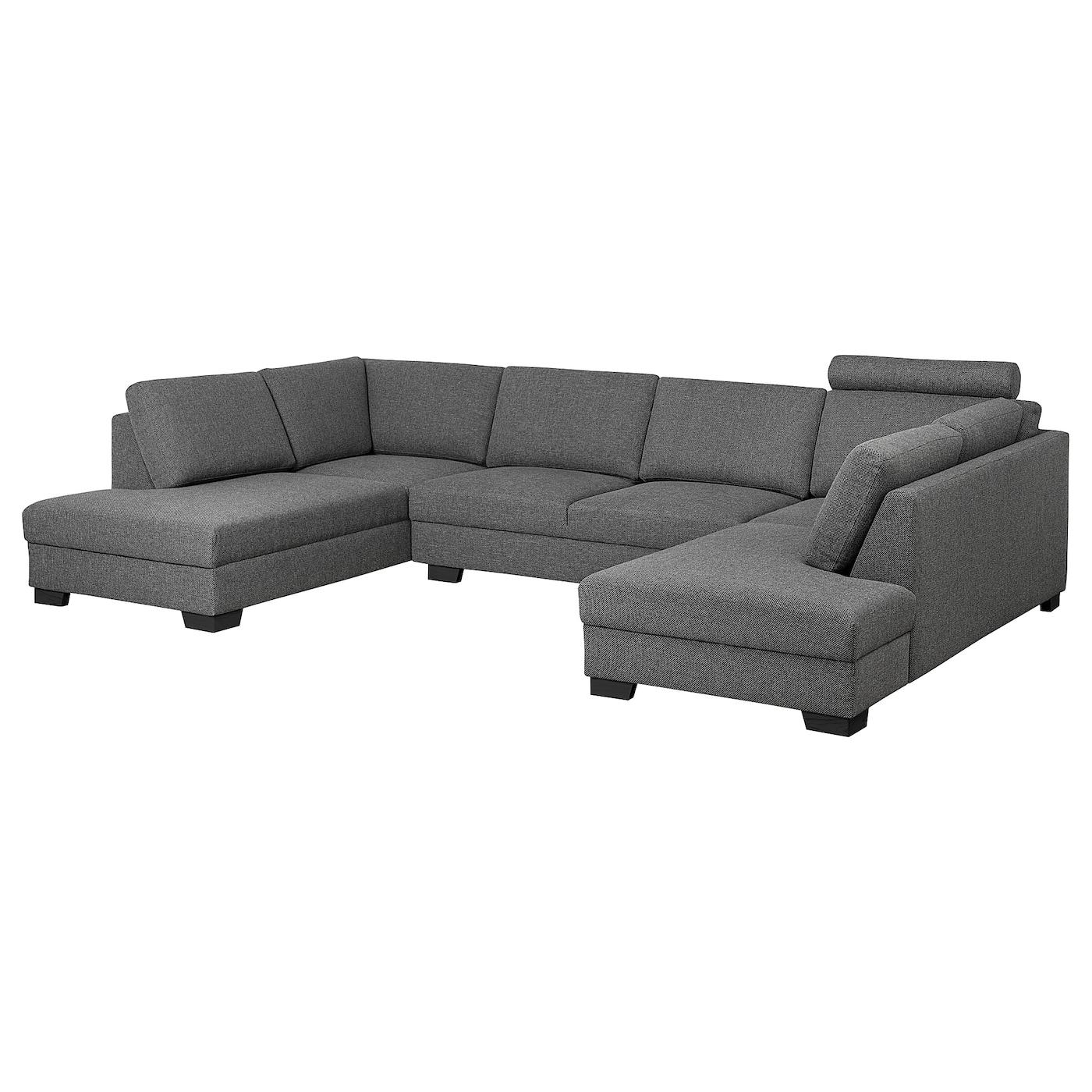 SÖRVALLEN Sofa, U-Form/4-sitzig