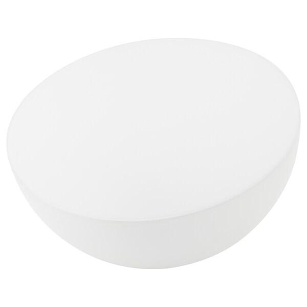 SOLVINDEN Solarleuchte, LED, für draußen/Halbkugel weiß, 18 cm