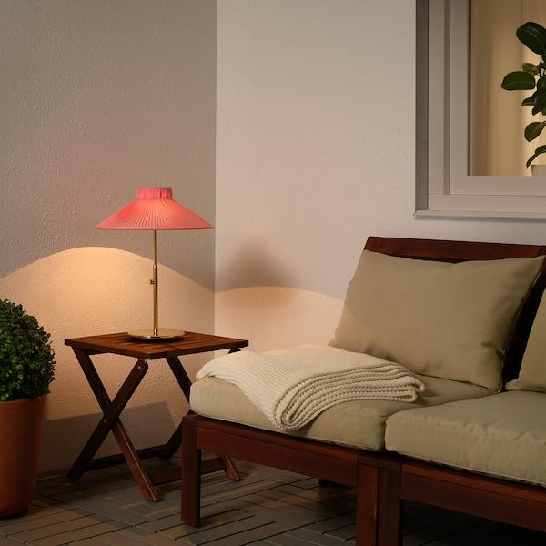 SOLVINDEN Solartischleuchte, LED, für draußen rosa
