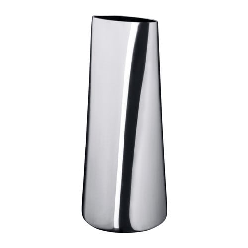 ikea designer vase sorgl s blumenvase design deko dekovase dekoartikel aluminium ebay. Black Bedroom Furniture Sets. Home Design Ideas