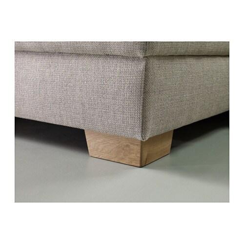 Sörvallen 2er Sofa Tenö Hellgrau Ikea