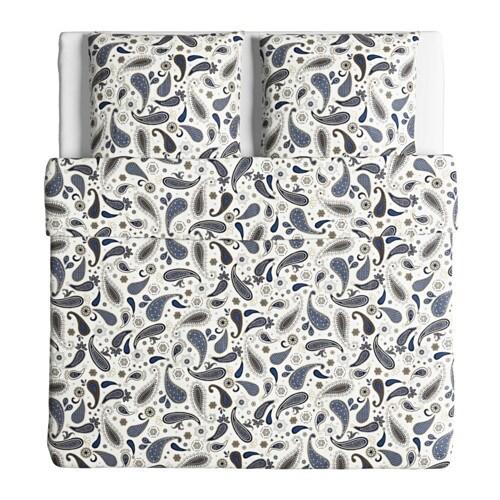ikea s tblomster blau bettw sche bettbezug 240x220 cm. Black Bedroom Furniture Sets. Home Design Ideas