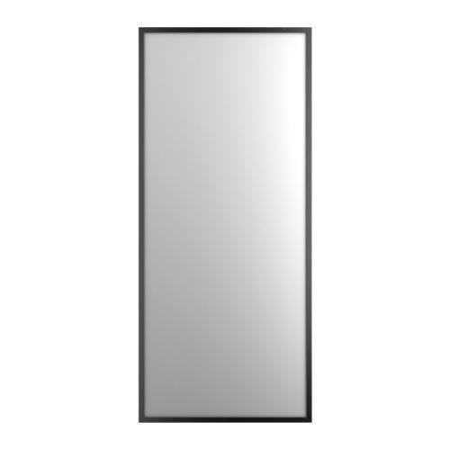 stave spiegel schwarzbraun 70x160 cm ikea. Black Bedroom Furniture Sets. Home Design Ideas