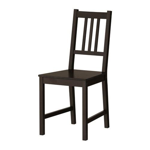 ikea k chenstuhl stuhl st hle holzstuhl kiefer esszimmerstuhl braunschwarz neu traumfabrik xxl. Black Bedroom Furniture Sets. Home Design Ideas