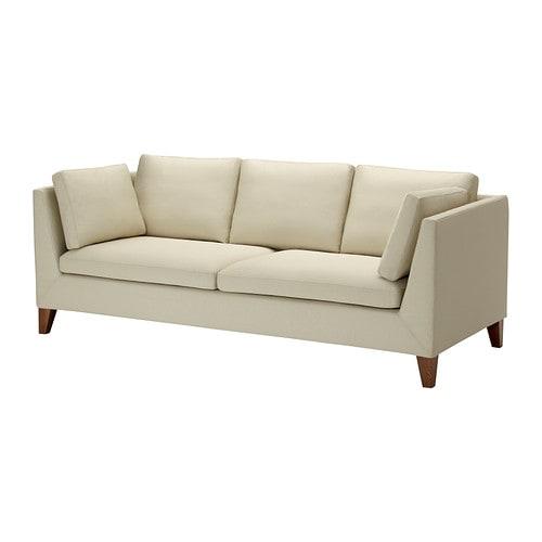 stockholm 3er sofa r st nga beige ikea. Black Bedroom Furniture Sets. Home Design Ideas