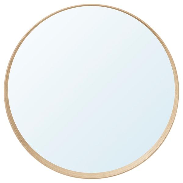 STOCKHOLM Spiegel, Eschenfurnier, 80 cm