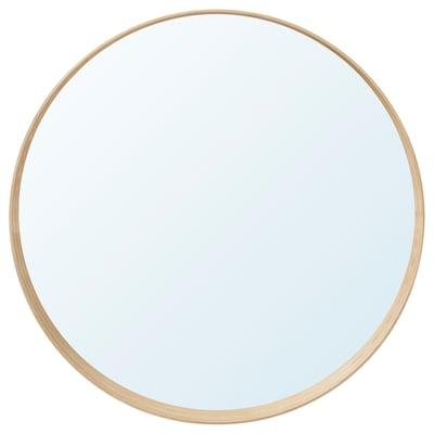 IKEA LANGESUND Spiegel dunkelgrau; 25cm Wandspiegel Badezimmerspiegel Badspiegel