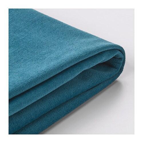 stocksund bezug 3er sofa ljungen blau ikea. Black Bedroom Furniture Sets. Home Design Ideas