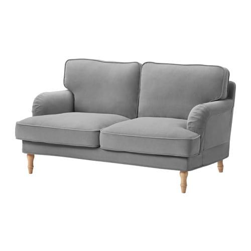 stocksund bezug 2er sofa ljungen grau ikea. Black Bedroom Furniture Sets. Home Design Ideas