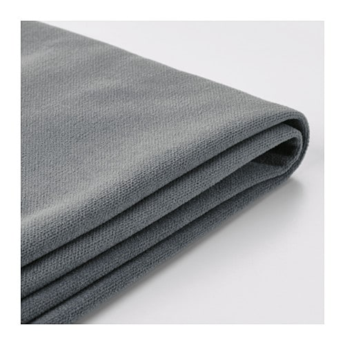 stocksund bezug 3er sofa ljungen grau ikea. Black Bedroom Furniture Sets. Home Design Ideas