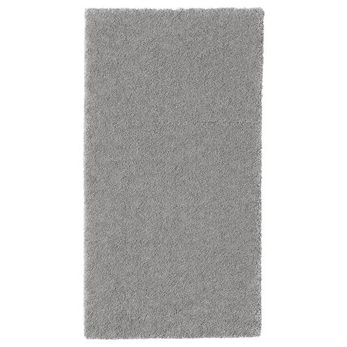 STOENSE Teppich Kurzflor mittelgrau 150 cm 80 cm 18 mm 1.20 m² 2560 g/m² 1490 g/m² 15 mm