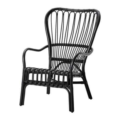 Sessel ikea schwarz  STORSELE Sessel mit hoher Rückenlehne - IKEA