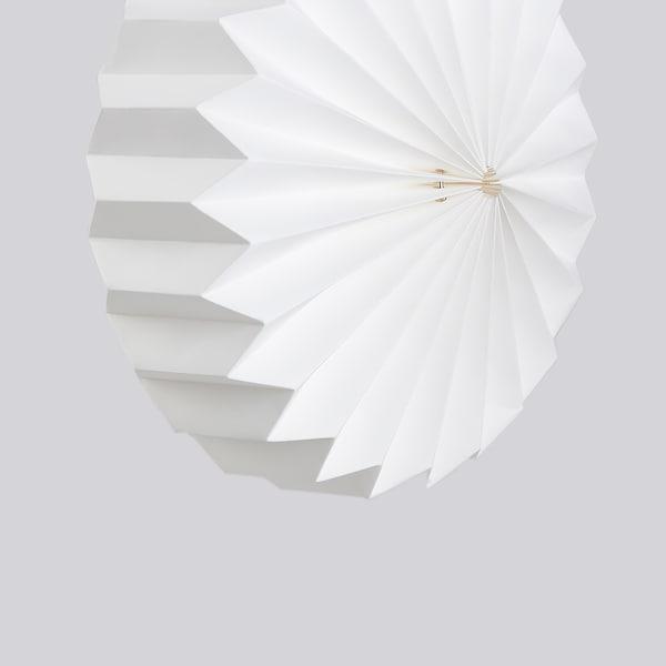 STRÅLA Leuchtenschirm, Origami/weiß, 34 cm