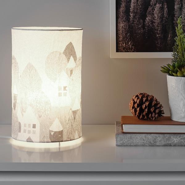 STRÅLA Tischleuchte, LED, Landschaft, 30 cm