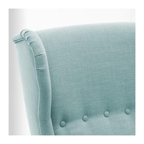 strandmon ohrensessel skiftebo hellt rkis ikea. Black Bedroom Furniture Sets. Home Design Ideas