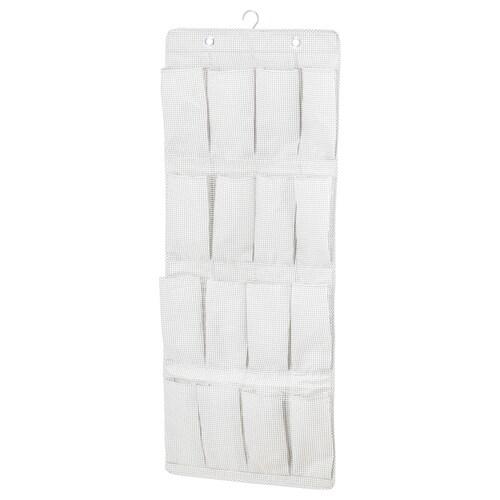 STUK Hängeaufbewahrung 16 Fächer weiß/grau 51 cm 140 cm 115 cm
