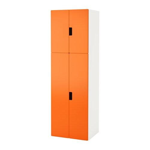 stuva aufbewahrung mit t ren wei orange ikea. Black Bedroom Furniture Sets. Home Design Ideas