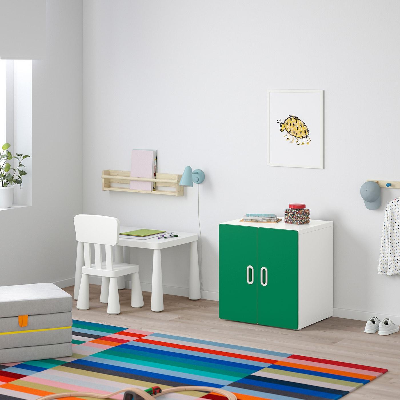 Stuva Fritids Schrank Weiss Grun Ikea Deutschland