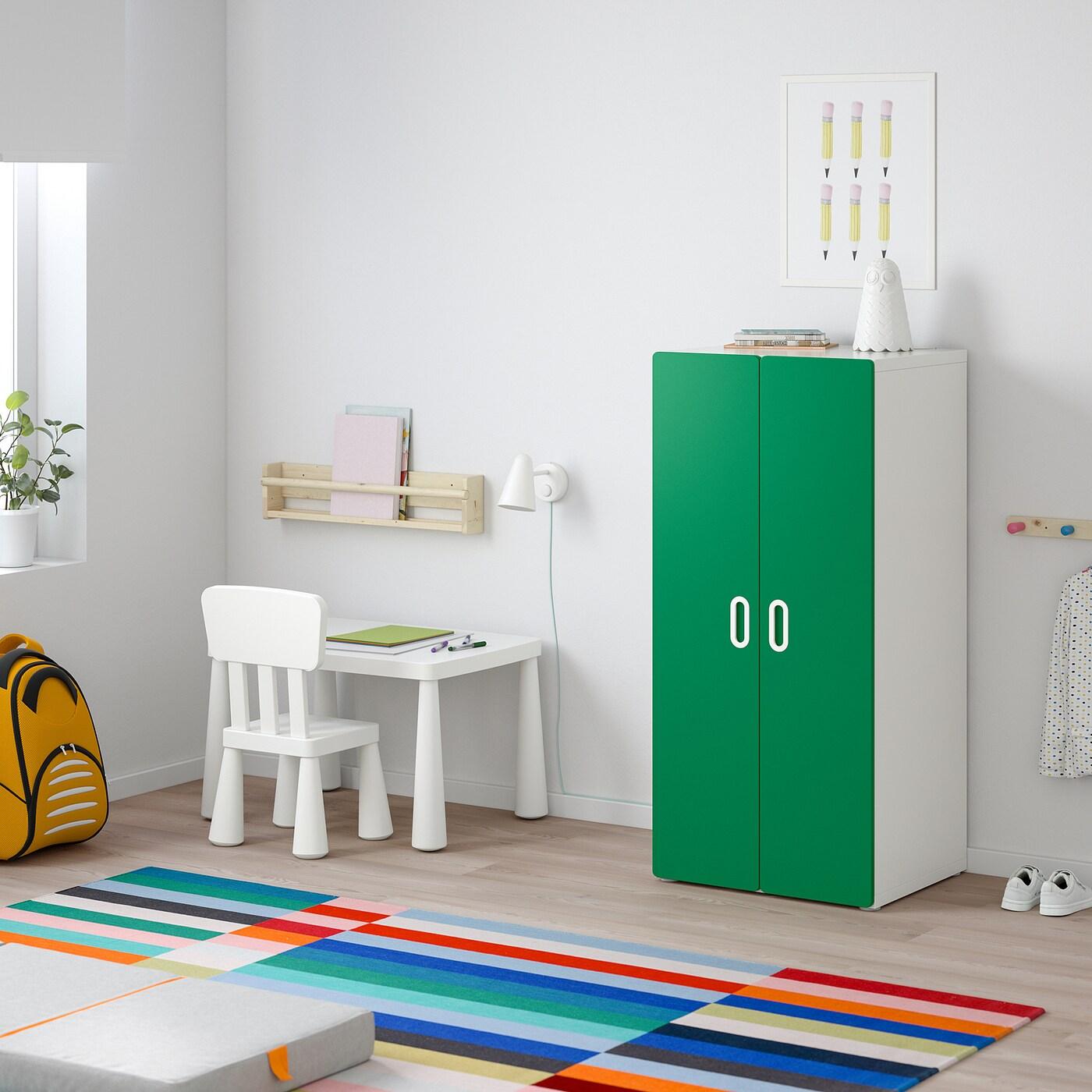 Stuva Fritids Kleiderschrank Weiss Grun Ikea Deutschland