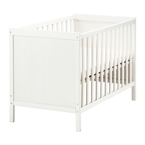 Kinderbett weiß ikea  SUNDVIK Babybett - IKEA