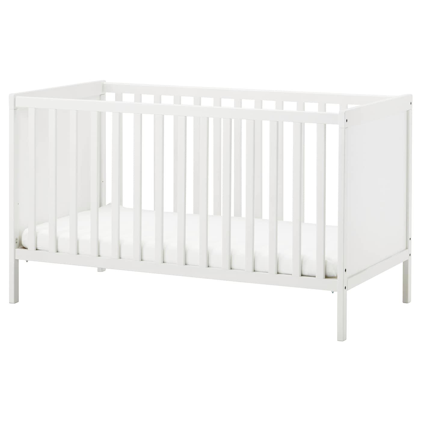 SUNDVIK Babybett - weiß 70x140 cm