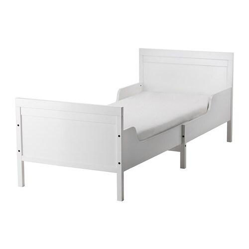 Kinderbett ikea  SUNDVIK Bettgest.m Federholzrahmen ausz. - IKEA