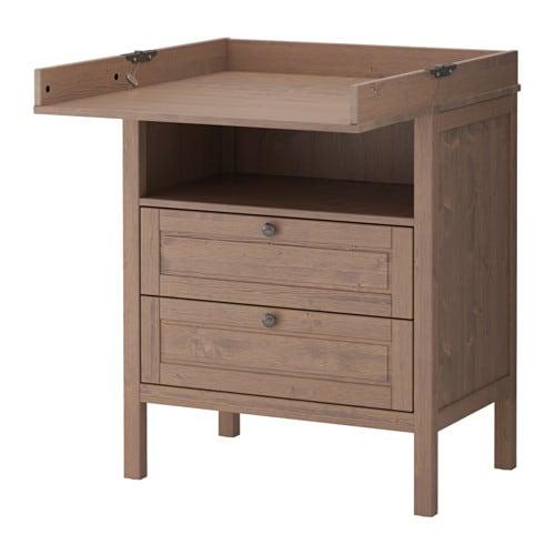 Sundvik Wickeltisch Kommode Ikea