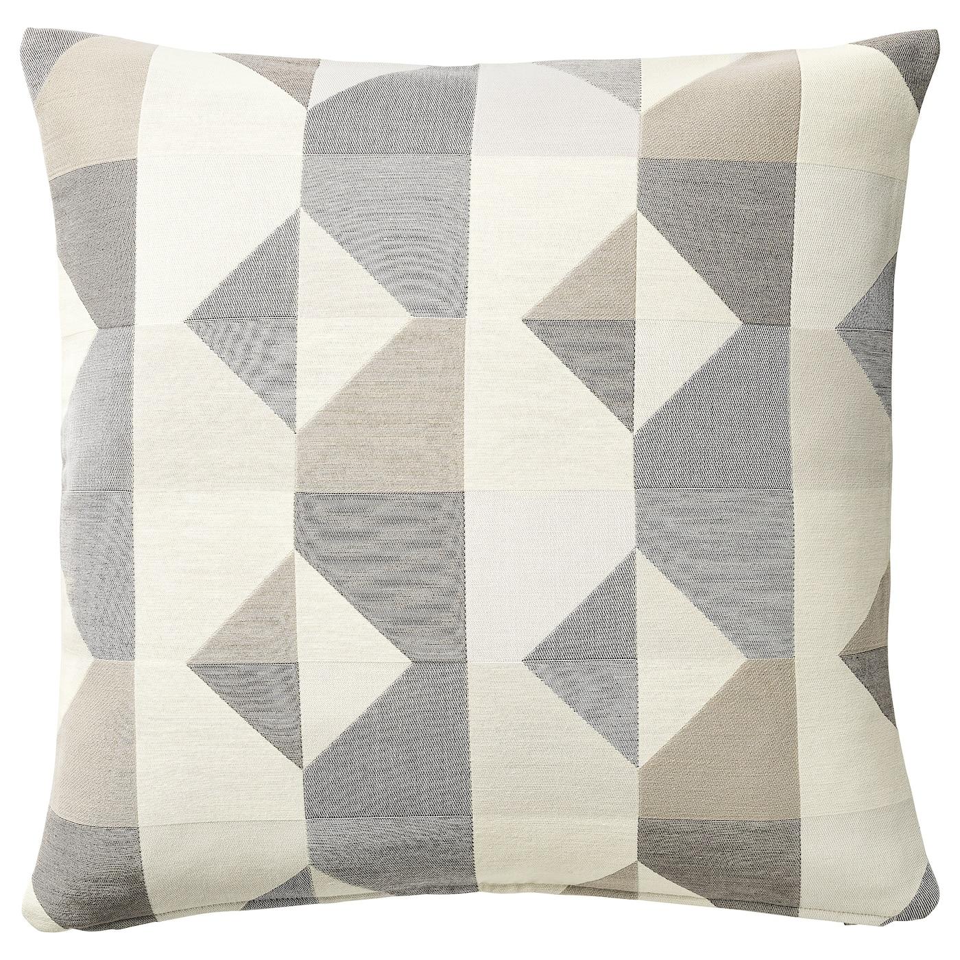Ikea MAJBRITT Kissenhülle,50x50cm Deko//Sofakissen beige Flamingo 403.696.18 NEU