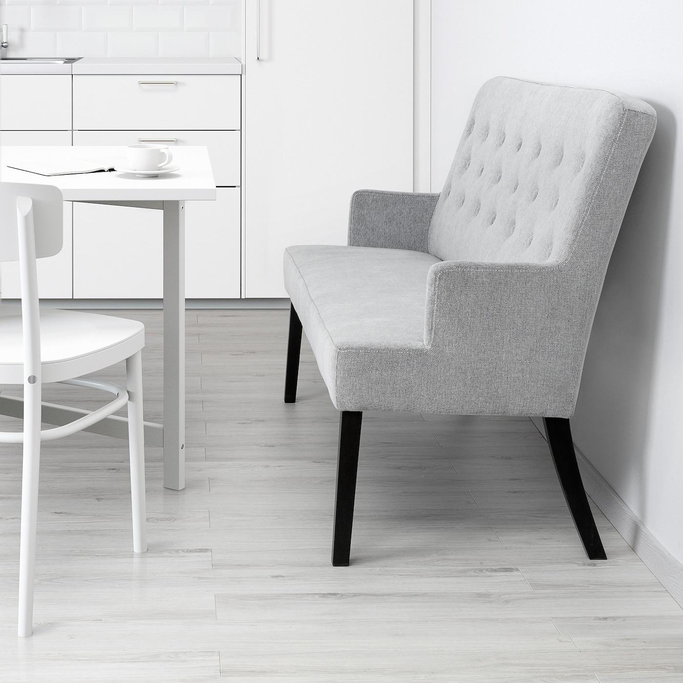 Svenarne Kuchenbank Gepolstert Tallmyra Weiss Schwarz Ikea Deutschland