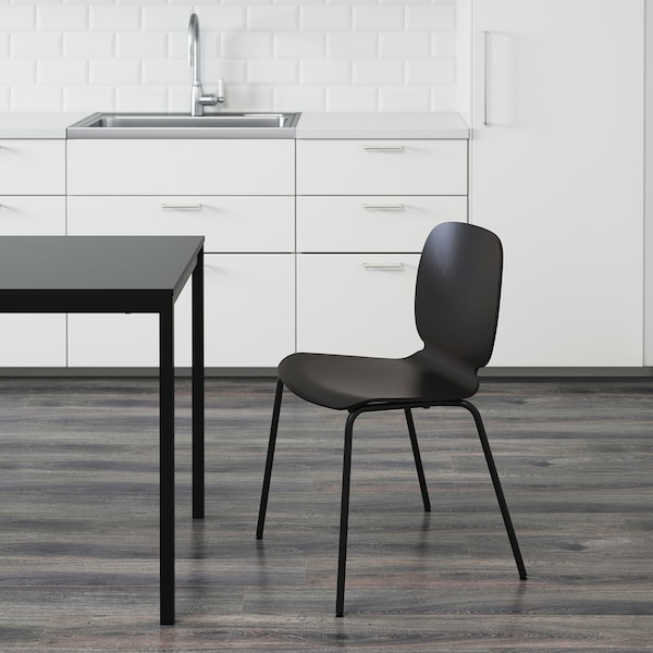 SVENBERTIL Stuhl schwarz/Broringe schwarz 110 kg 52 cm 50 cm 84 cm 45 cm 42 cm 46 cm