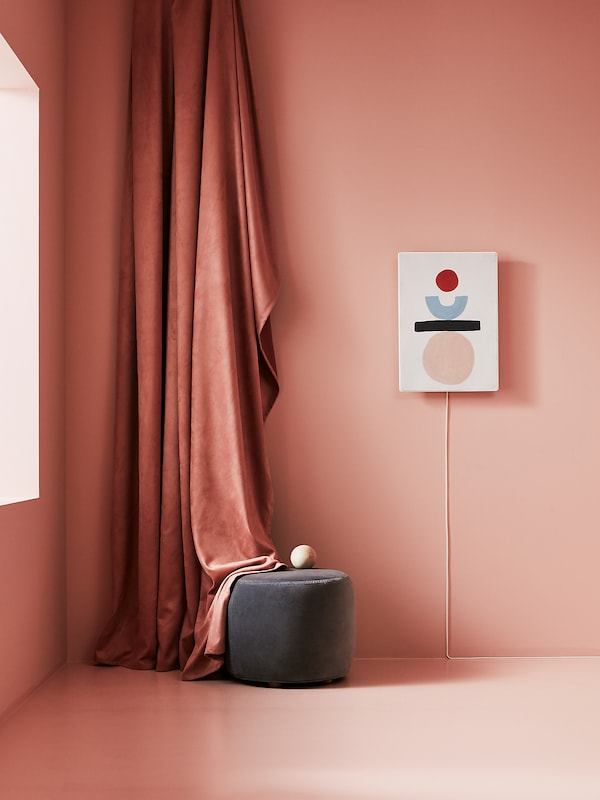 SYMFONISK Paneel für Rahmen mit Speaker, Ausgeglichen