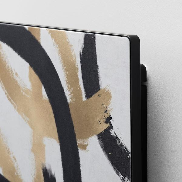 SYMFONISK Paneel für Rahmen mit Speaker, Labyrinth luxe – flux