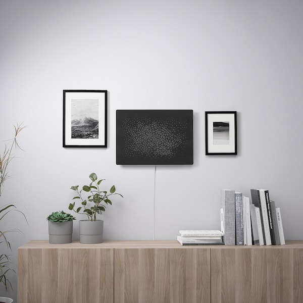SYMFONISK Rahmen mit WiFi-Speaker, schwarz