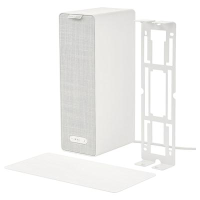 SYMFONISK / SYMFONISK Regal-Speaker mit Wandhalterung weiß 10 cm 15 cm 31 cm