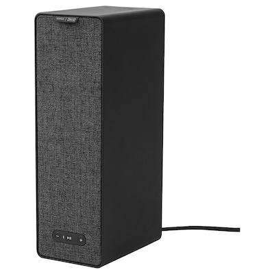 SYMFONISK Regal-WiFi-Speaker schwarz 10 cm 15 cm 31 cm 150 cm