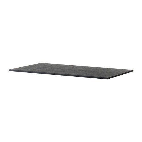 Tischplatte ikea schwarz  IKEA TÄRENDÖ Tischplatte 19,59% günstiger bei koettbilligar.de