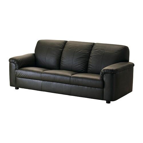 timsfors 3er sofa mjuk kimstad dunkelgr n ikea. Black Bedroom Furniture Sets. Home Design Ideas