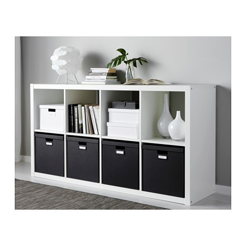 ikea tjena kasten mit deckel schwarz 32x35x32 box kiste. Black Bedroom Furniture Sets. Home Design Ideas