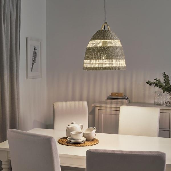 TORARED Hängeleuchtenschirm, Riedgras/Handarbeit, 36 cm