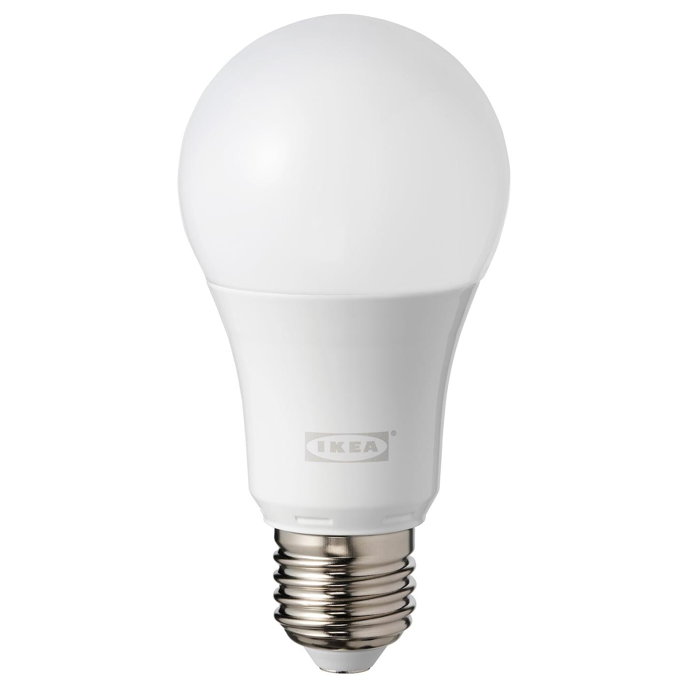 Leuchtmittel IKEA TRADFRI LED-Lampe in opalweiß; rund; E27; 1000lm; dimmbar; A