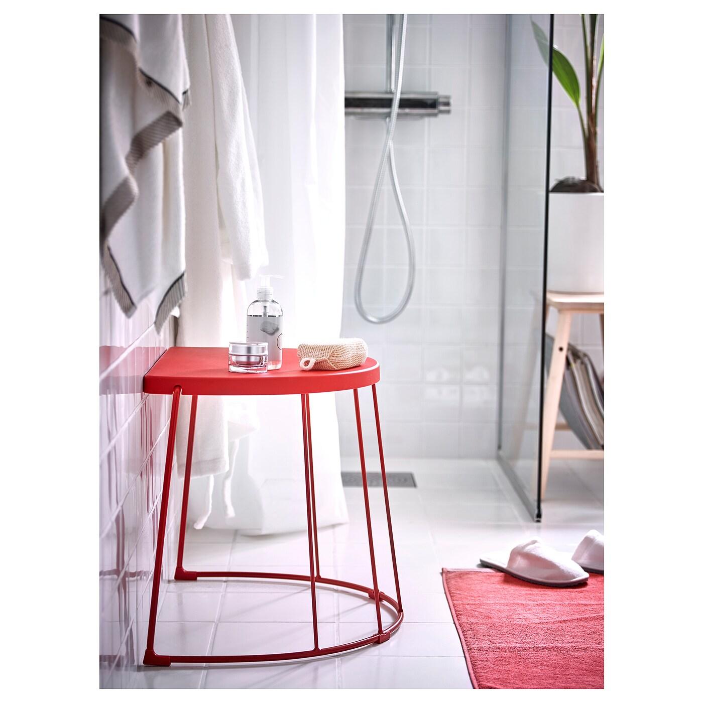 Tranaro Hocker Beistelltisch Innen Aussen Rot Ikea Deutschland