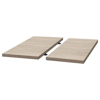 TRANEBO Ansatzplatte, weiß, 50x101 cm