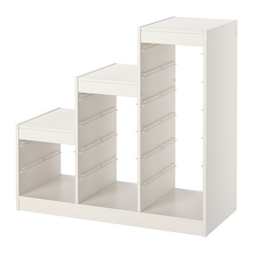 trofast regalrahmen ikea. Black Bedroom Furniture Sets. Home Design Ideas