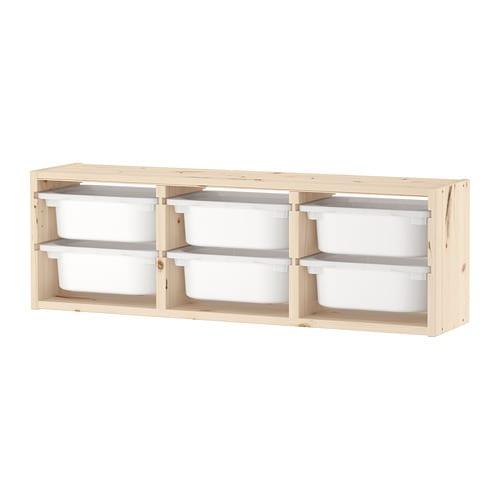 Trofast Wandaufbewahrung Ikea